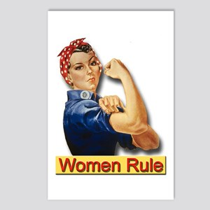 Women Rule Postcards (Package of 8)