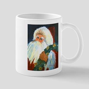 Old Fashion Santa Mugs