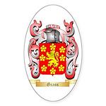 Grass Sticker (Oval 50 pk)