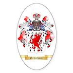 Grantham Sticker (Oval 50 pk)