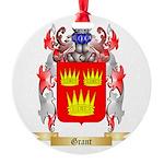 Grant Round Ornament