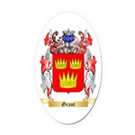 Grant Oval Car Magnet
