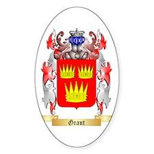 Grant Sticker (Oval)