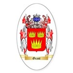 Grant Sticker (Oval 10 pk)