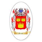 Grant Sticker (Oval 50 pk)