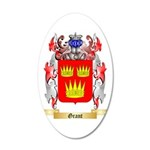 Grant 35x21 Oval Wall Decal