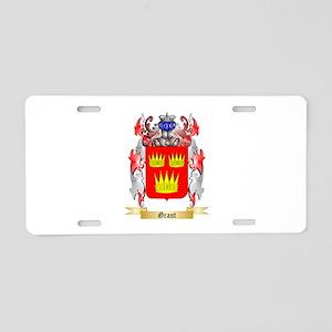 Grant Aluminum License Plate