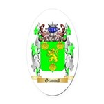 Grannell Oval Car Magnet