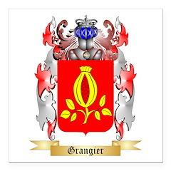 Grangier Square Car Magnet 3