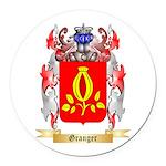 Granger Round Car Magnet
