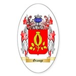 Grange Sticker (Oval 50 pk)