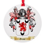 Grane Round Ornament