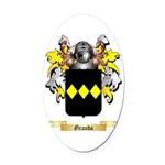 Grando Oval Car Magnet