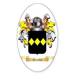 Grando Sticker (Oval 50 pk)