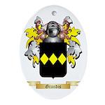 Grandis Ornament (Oval)