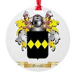 Grandi Round Ornament