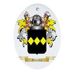 Grandet Ornament (Oval)