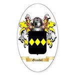 Grandel Sticker (Oval 50 pk)