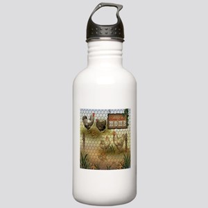 Home Sweet Home Chicke Stainless Water Bottle 1.0L