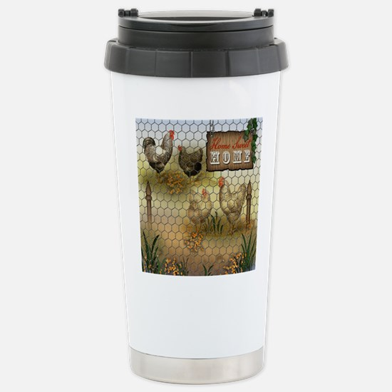 Home Sweet Home Chicken Stainless Steel Travel Mug