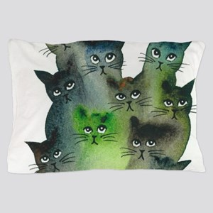 Strasbourg Stray Cats Pillow Case
