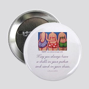 """A Shell in your Pocket 2.25"""" Button (10 pack)"""