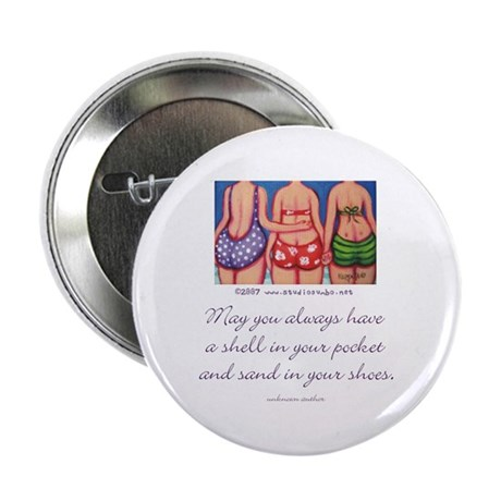 "A Shell in your Pocket 2.25"" Button (10 pack)"