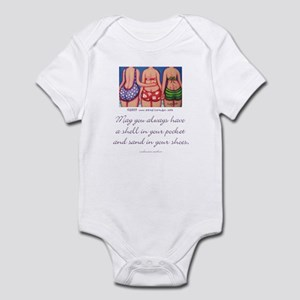 A Shell in your Pocket Infant Bodysuit