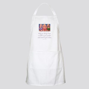 A Shell in your Pocket BBQ Apron