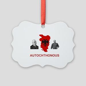 Autochthonous Albania Picture Ornament