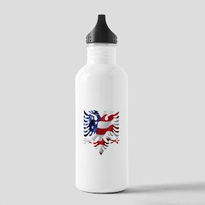 Albanian American Eagl Stainless Water Bottle 1.0L