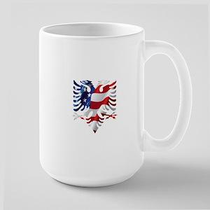 Albanian American Eagle Mugs