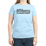 I Majored In Mathematics Women's Light T-Shirt
