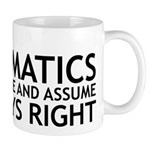 I Majored In Mathematics Mug