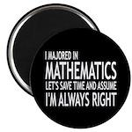 I Majored In Mathematics 2.25
