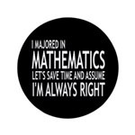 I Majored In Mathematics 3.5