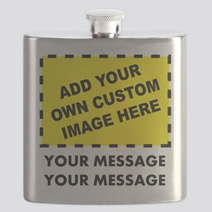 Custom Image & Message Flask
