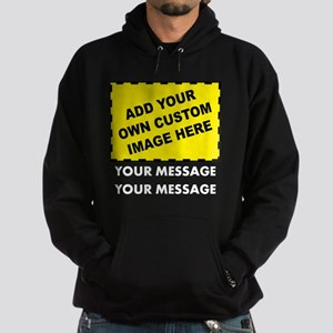 Custom Image & Message Hoodie (dark)