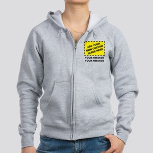 Personalized Women s Zip Up Hoodies - CafePress 1f3e21bb04
