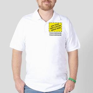 Custom Image & Message Golf Shirt