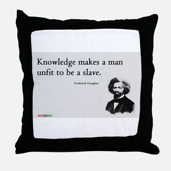 Frederick Douglas - Unfit to be a Slave Throw Pill