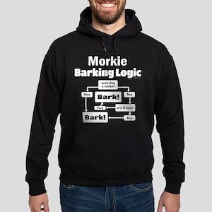 Morkie Logic Hoodie (dark)