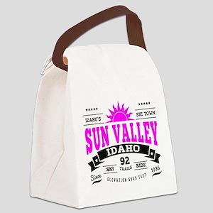 Sun Valley Vintage Canvas Lunch Bag