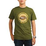 Sanibel Island Shell Organic Men's T-Shirt (dark)