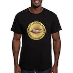 Sanibel Island Shell I Men's Fitted T-Shirt (dark)