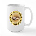 Sanibel Island Shell Inspector Large Mug