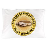 Sanibel Island Shell Inspector Pillow Case
