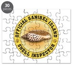 Sanibel Island Shell Inspector Puzzle