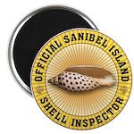Sanibel Island Shell Inspector Magnet