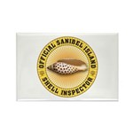 Sanibel Island Shell I Rectangle Magnet (100 pack)
